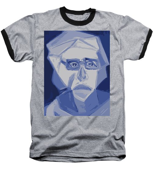Self Portrait In Cubism Baseball T-Shirt