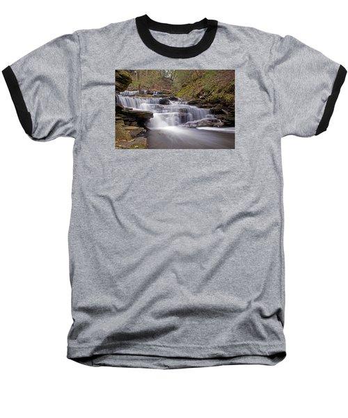 Seneca Falls In Spring Baseball T-Shirt by Shelly Gunderson