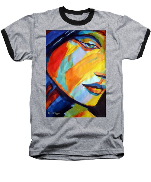Baseball T-Shirt featuring the painting Sentiment by Helena Wierzbicki