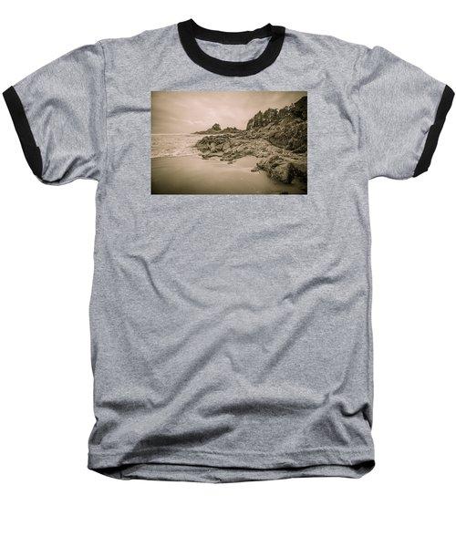 Cox Bay Sepia Baseball T-Shirt