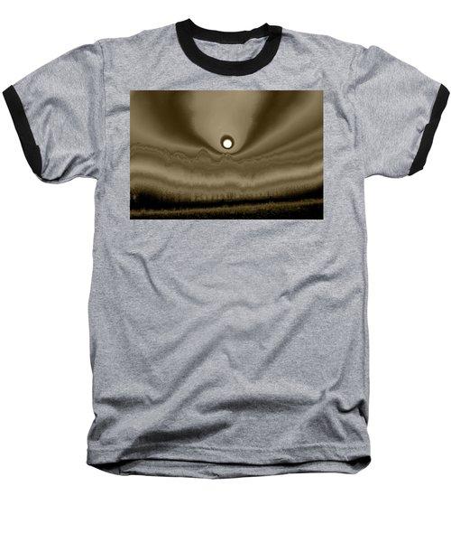 Sepia Sunrise Baseball T-Shirt