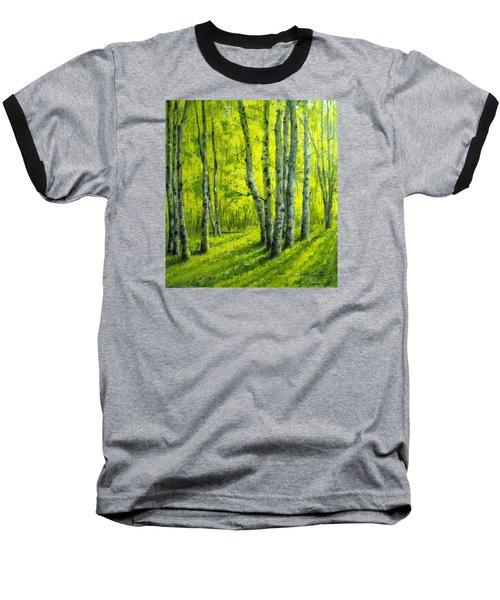 September In The Woods Baseball T-Shirt