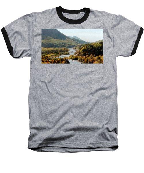 September Morning In Alaska Baseball T-Shirt