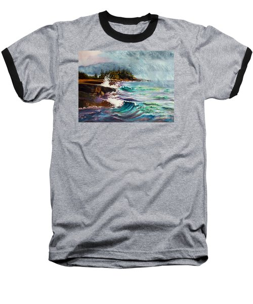 September Storm Lake Superior Baseball T-Shirt