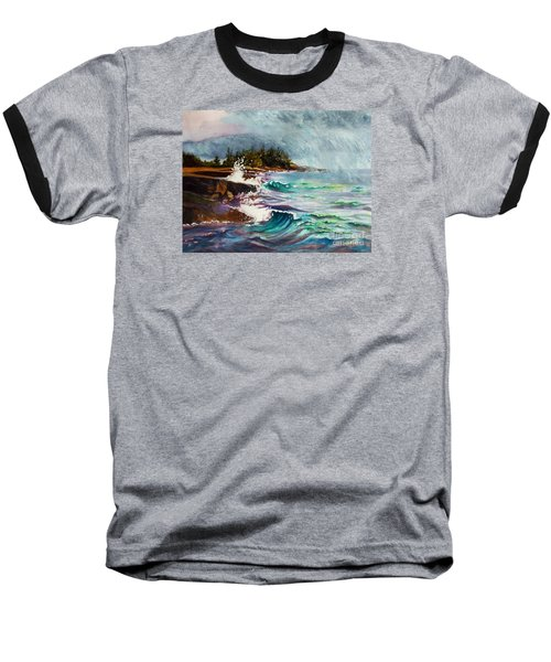 September Storm Lake Superior Baseball T-Shirt