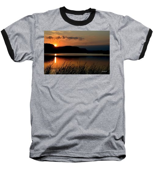 September Sunset Baseball T-Shirt