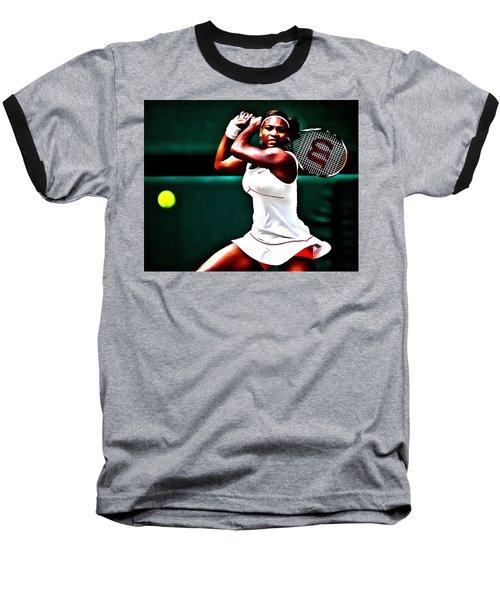 Serena Williams 3a Baseball T-Shirt