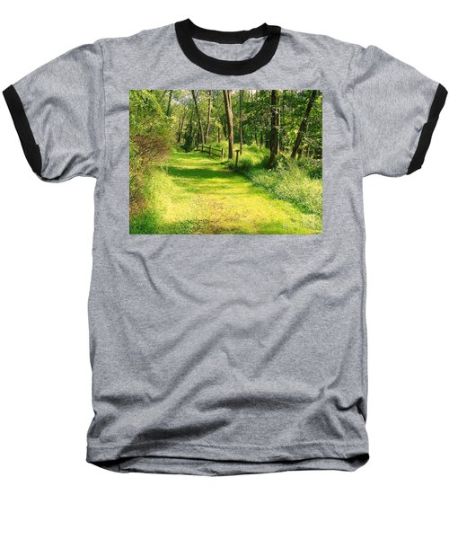 Baseball T-Shirt featuring the photograph Serenity by Becky Lupe