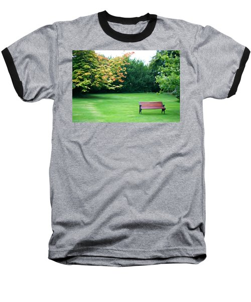 Baseball T-Shirt featuring the photograph Serenity by Charlie and Norma Brock