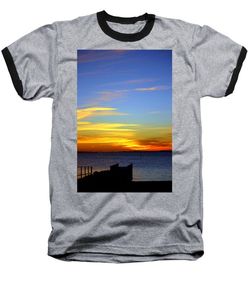 Serenity Baseball T-Shirt by Faith Williams