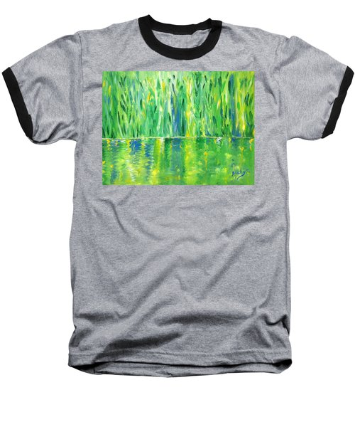 Serenity In Green Baseball T-Shirt