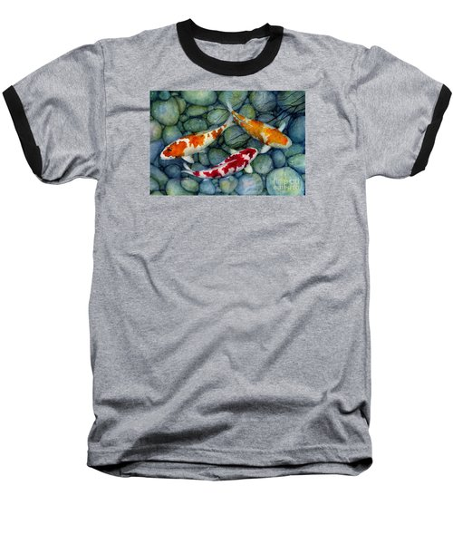 Serenity Koi Baseball T-Shirt