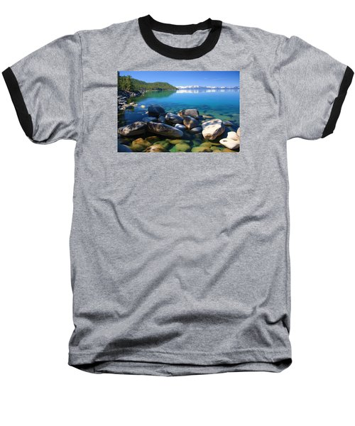 Baseball T-Shirt featuring the photograph Serenity by Sean Sarsfield