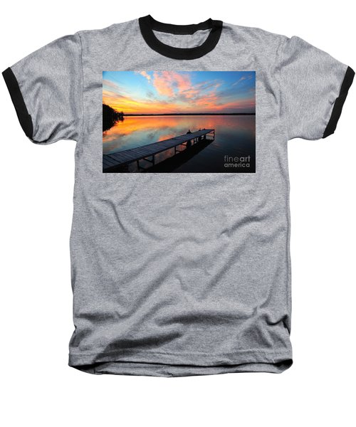 Baseball T-Shirt featuring the photograph Serenity by Terri Gostola