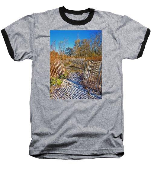 Serenity Trail.... Baseball T-Shirt by Nina Stavlund