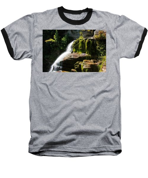 Baseball T-Shirt featuring the photograph Serenity by Trina  Ansel