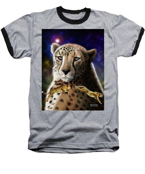 First In The Big Cat Series - Cheetah Baseball T-Shirt