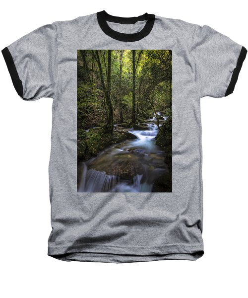 Baseball T-Shirt featuring the photograph Sesin Stream Near Caaveiro by Pablo Avanzini