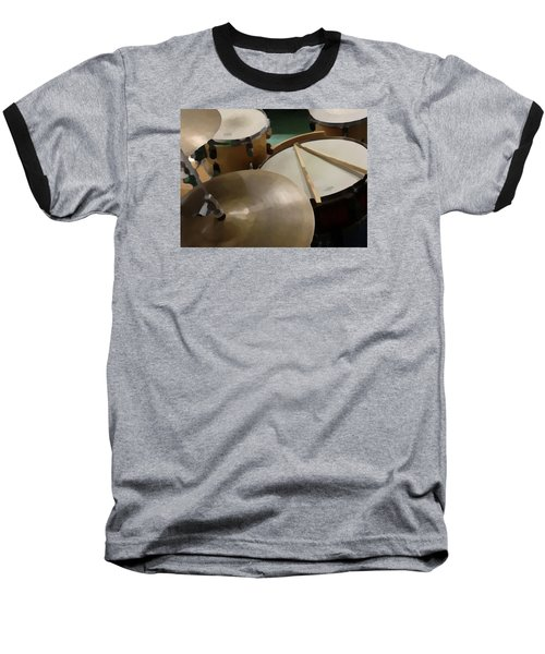 Baseball T-Shirt featuring the photograph Set by Photographic Arts And Design Studio