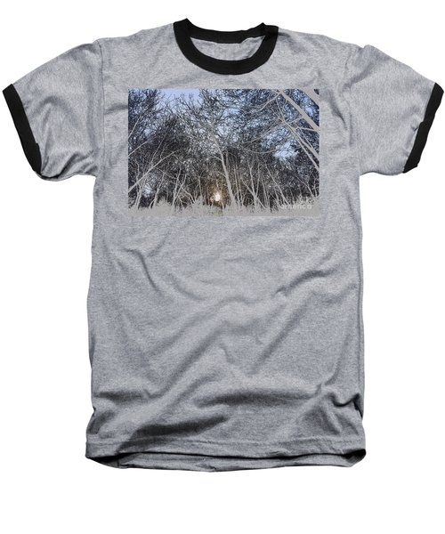 The Light At The End Of The Tunnel Baseball T-Shirt