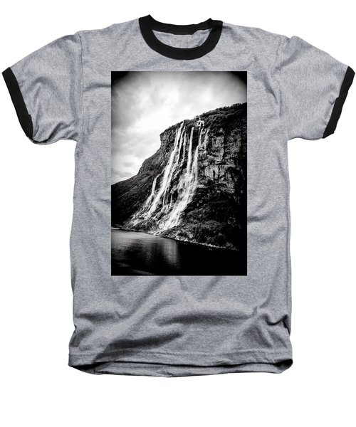 Seven Sisters Waterfall Baseball T-Shirt by Bill Howard