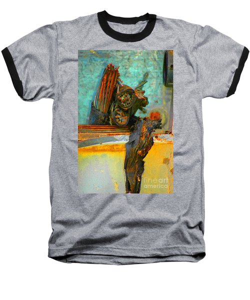 Severed  Baseball T-Shirt by Christiane Hellner-OBrien