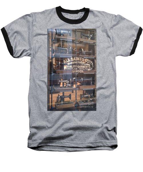 Baseball T-Shirt featuring the photograph Sew What by Carol Lynn Coronios