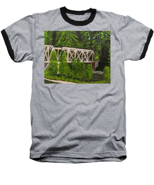 Sewalls Falls Bridge Baseball T-Shirt