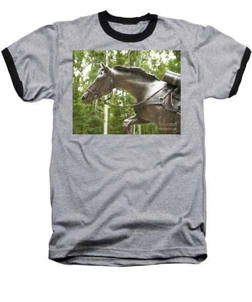 Sgt Reckless Baseball T-Shirt by Carol Lynn Coronios