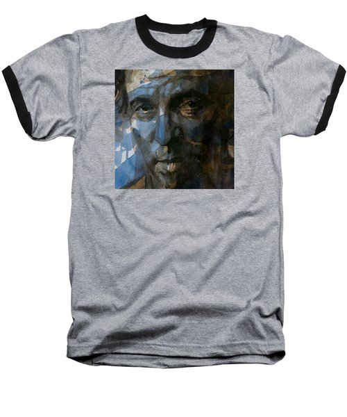 Shackled And Drawn Baseball T-Shirt by Paul Lovering