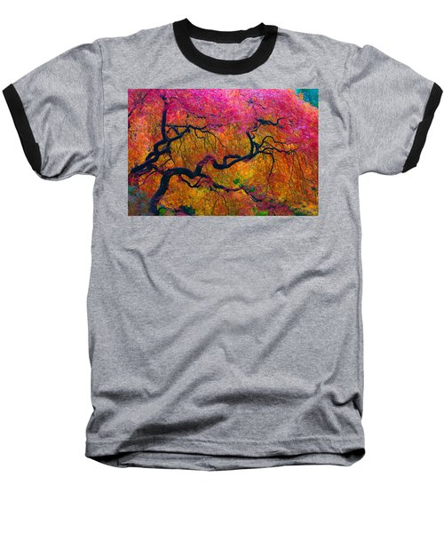 Shades Of Autumn Baseball T-Shirt
