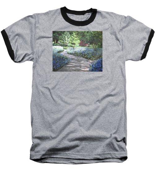Shades Of Blue Baseball T-Shirt