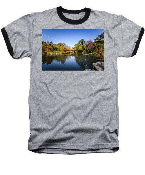 Shades Of Fall Baseball T-Shirt