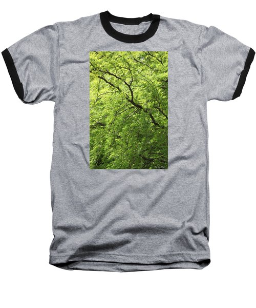 Shades Of Green Baseball T-Shirt