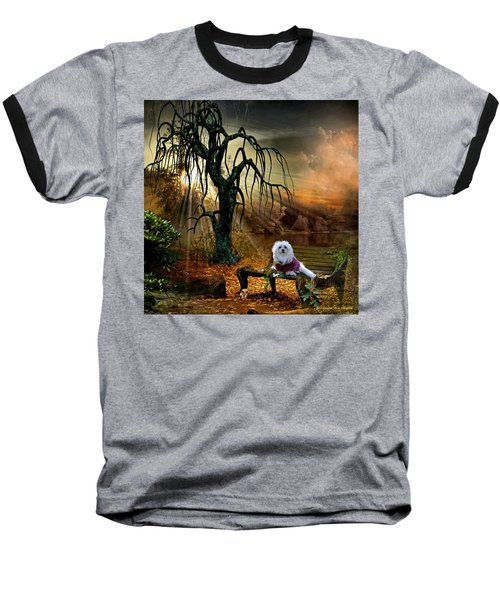 Shades Of The Fall  Baseball T-Shirt