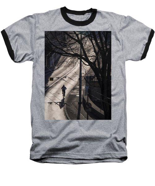 Shadow And Light Baseball T-Shirt