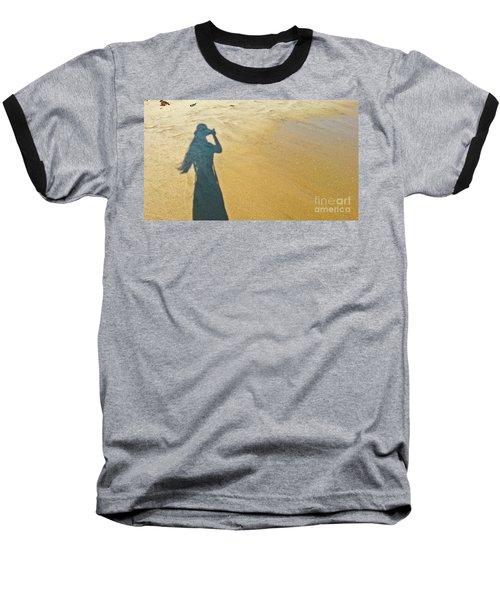 Shadow And Sand Raw Baseball T-Shirt