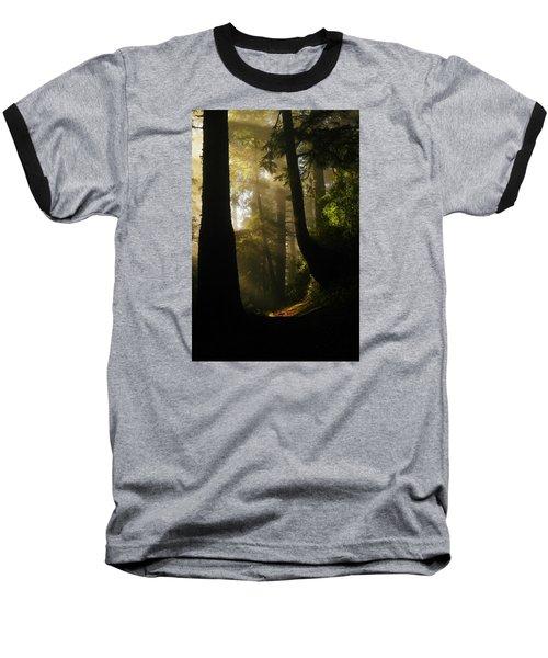 Shadow Dreams Baseball T-Shirt by Jeff Swan
