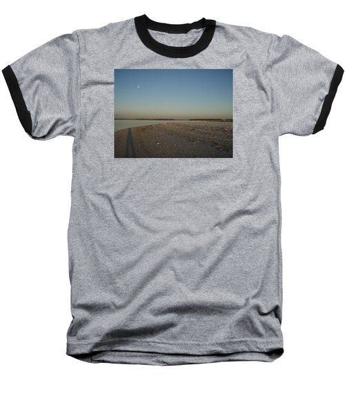 Baseball T-Shirt featuring the photograph Shadow Moon by Robert Nickologianis