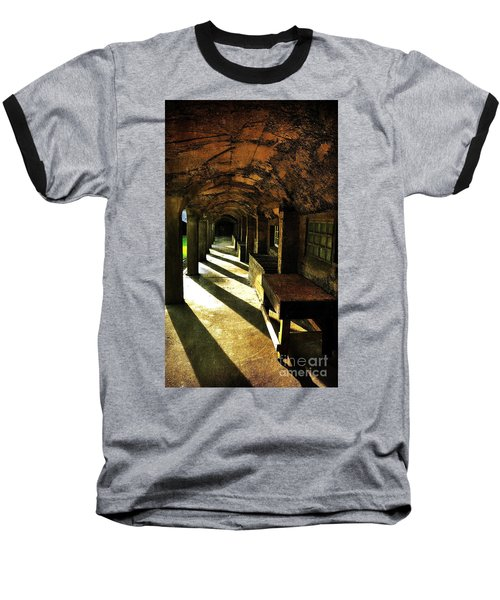 Shadows And Arches I Baseball T-Shirt