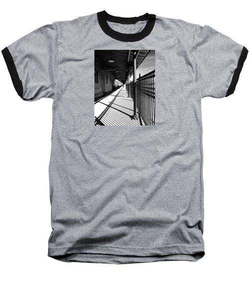 Shadows At The Station Baseball T-Shirt