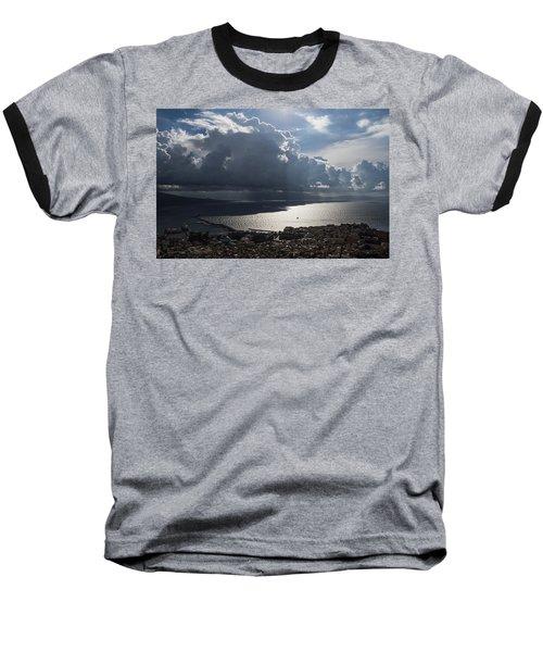 Baseball T-Shirt featuring the photograph Shadows Of Clouds by Georgia Mizuleva