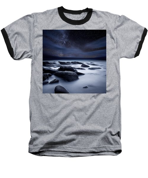 Shadows Of The Night Baseball T-Shirt by Jorge Maia