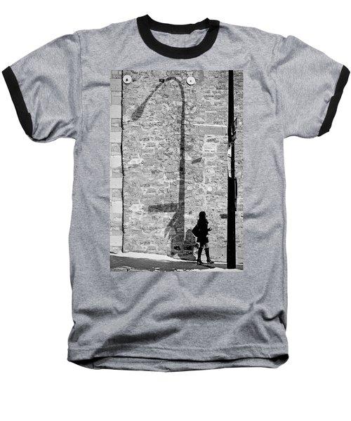 Shadows On St-laurent Baseball T-Shirt