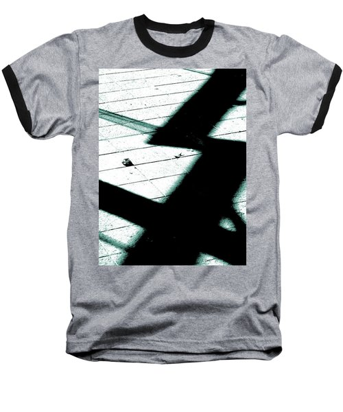 Shadows On The Floor  Baseball T-Shirt