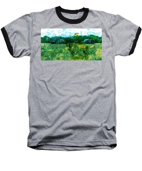 Shadows On The Land Baseball T-Shirt