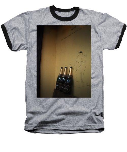 Baseball T-Shirt featuring the photograph Shadows by Rachel Mirror