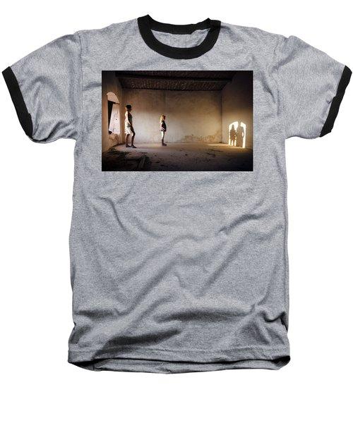Shadows Reborn - Convergence Baseball T-Shirt