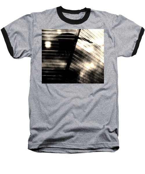 Baseball T-Shirt featuring the photograph Shadows Symphony  by Jessica Shelton