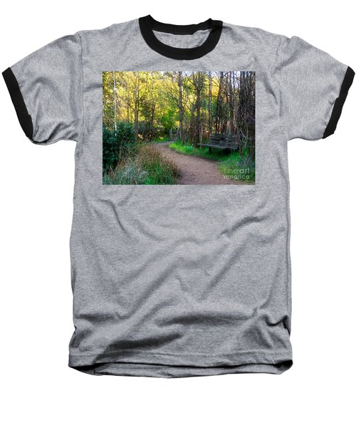 Baseball T-Shirt featuring the photograph Shady Dell by Kate Brown